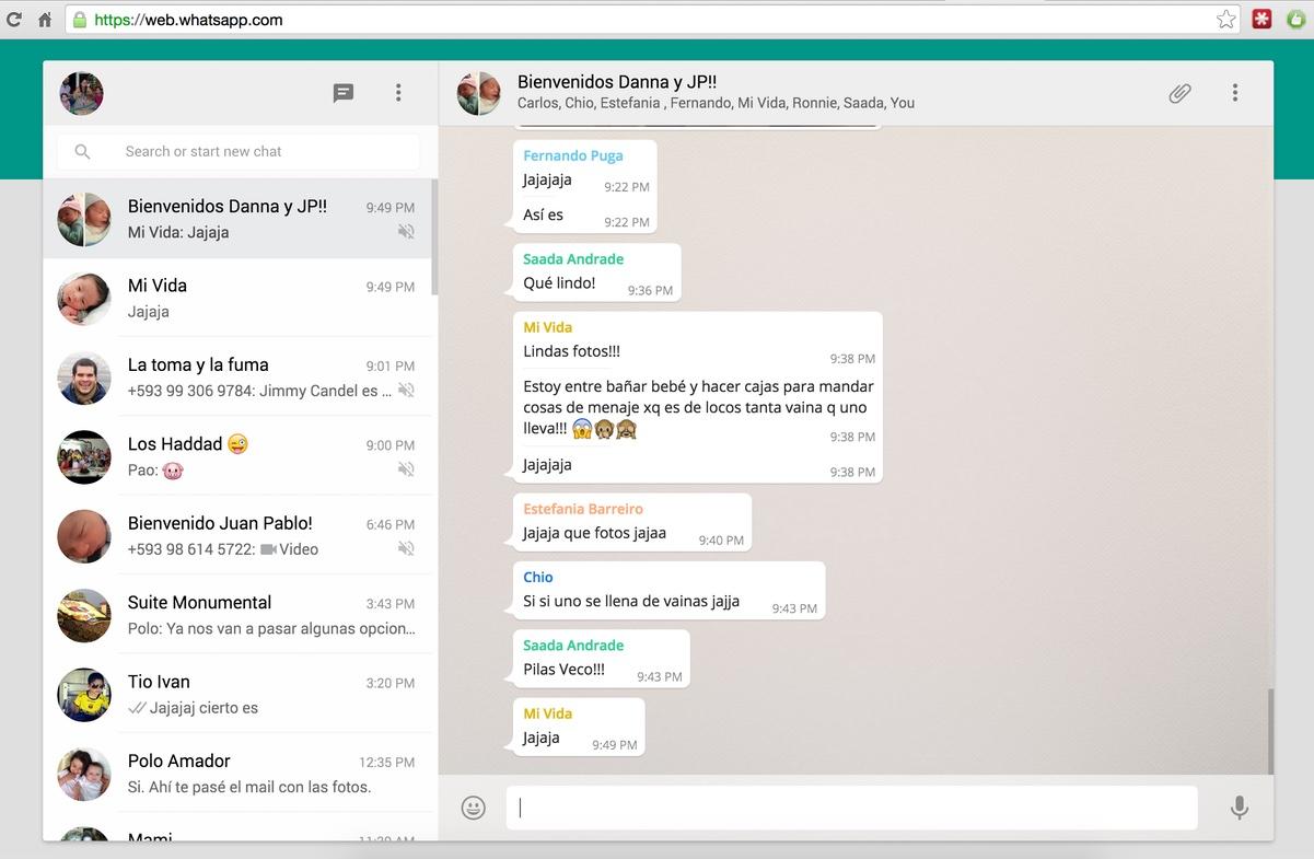 WhatsApp Web per Windows e Mac