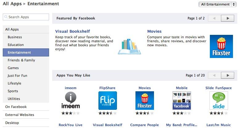 come cancellare applicazioni da Facebook