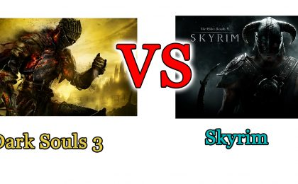 Dark Souls 3 vs Skyrim: il confronto