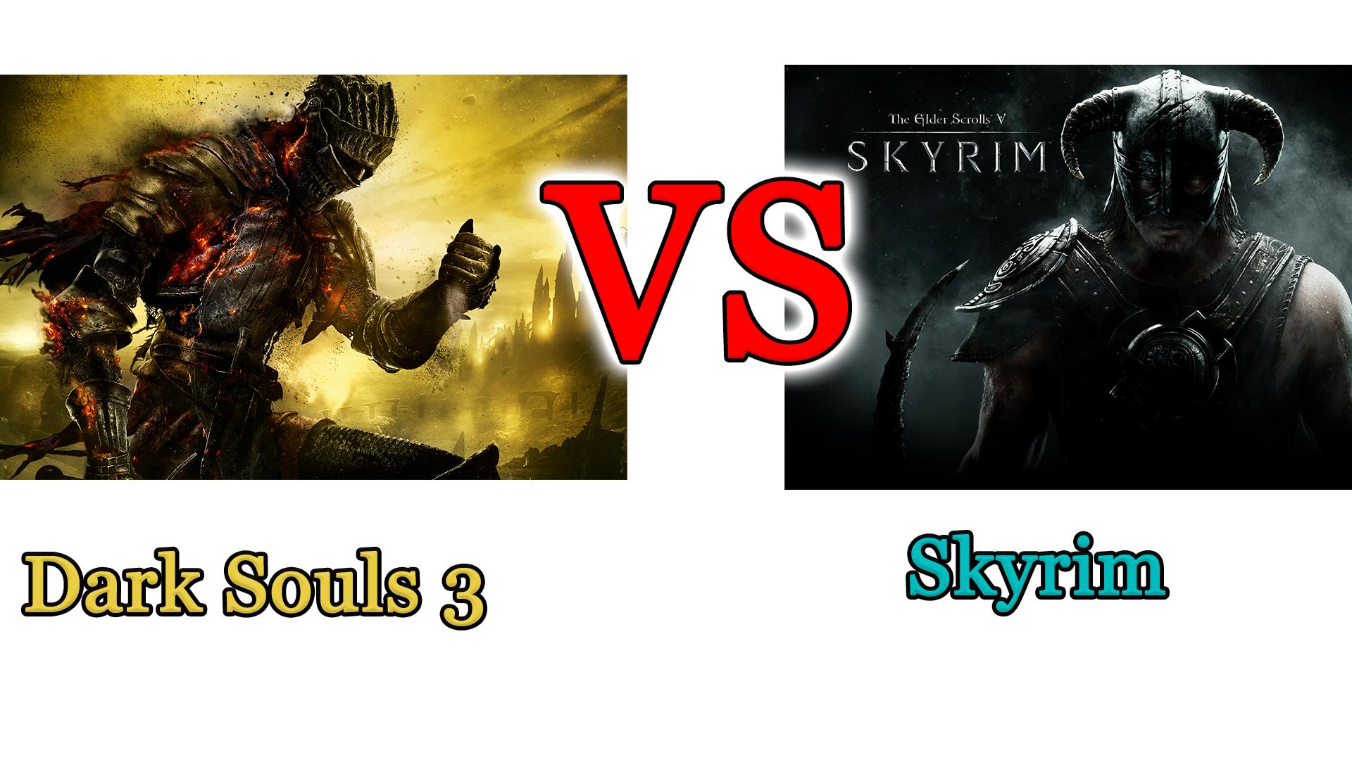 Dark Souls 3 vs Skyrim: il confronto