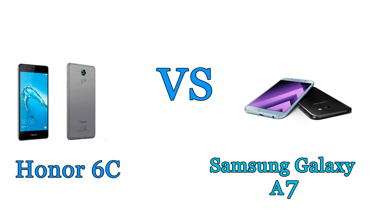 Honor 6C vs Samsung Galaxy A7: il confronto