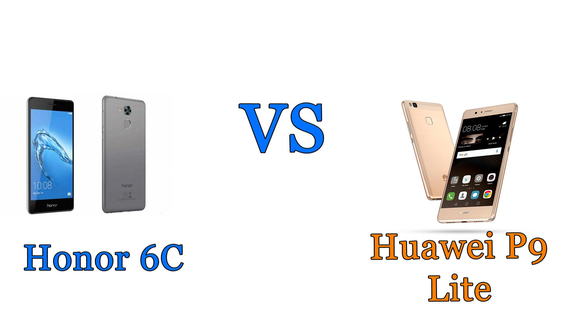 Honor 6C vs Huawei P9 Lite: il confronto