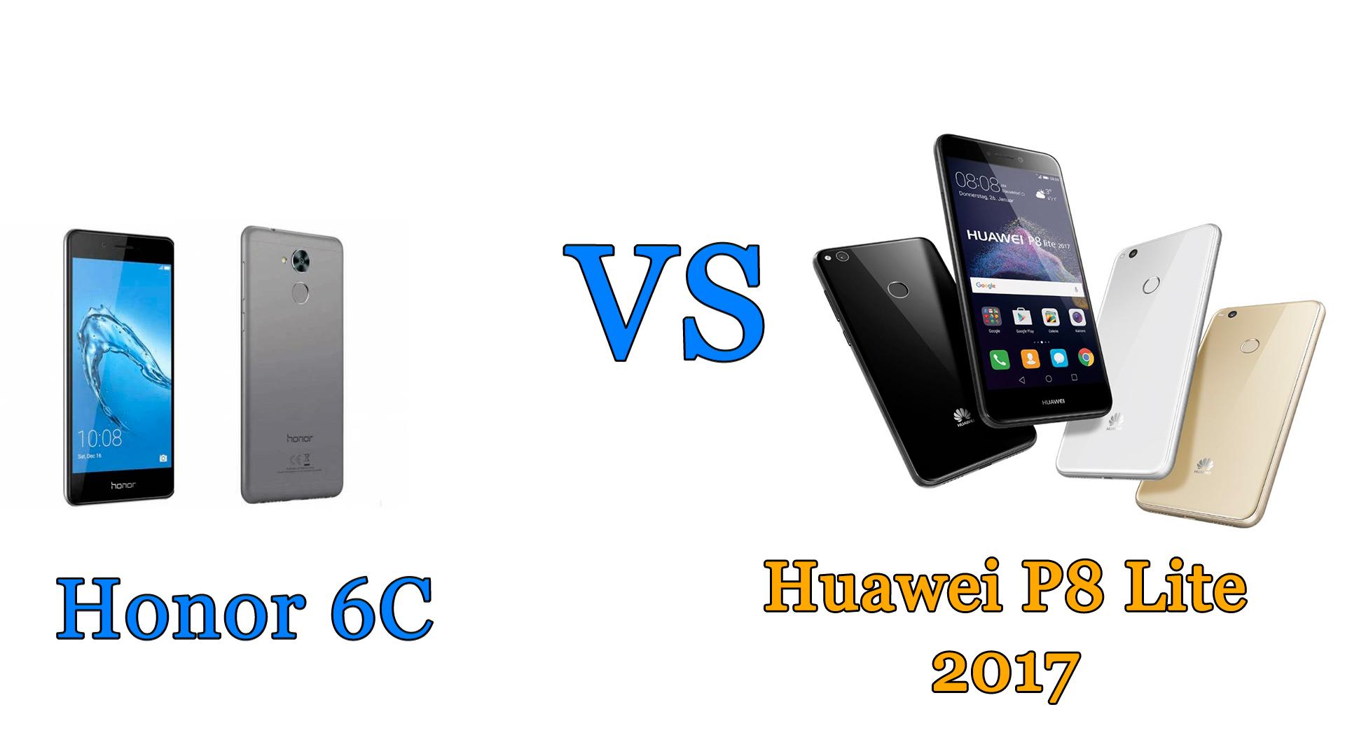 Honor 6C vs Huawei P8 Lite 2017: il confronto