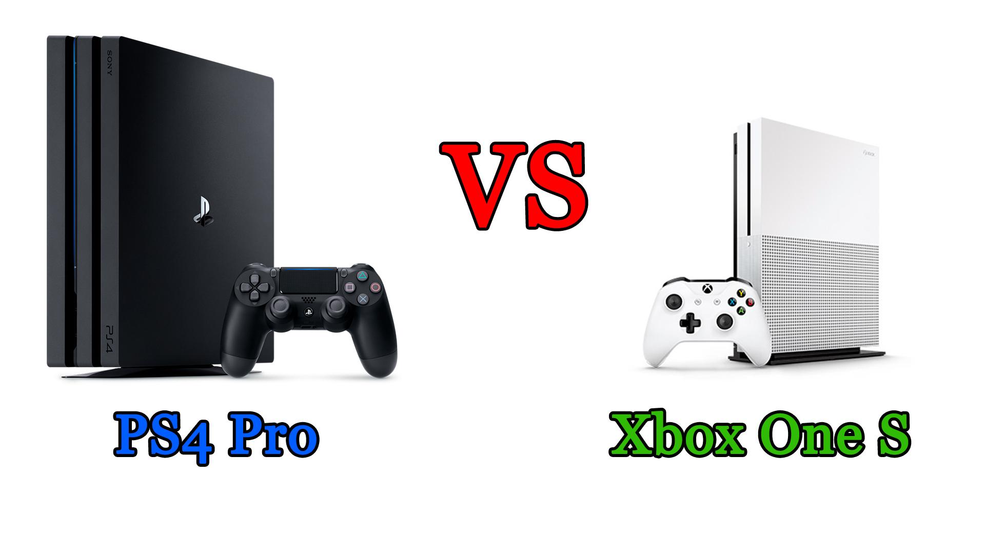 Ps4 Pro vs Xbox Ones S: il confronto
