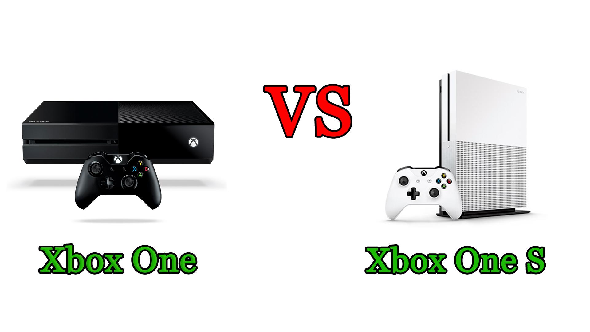 Xbox One vs Xbox One S: il confronto