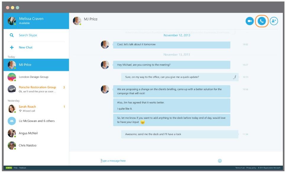 Come eliminare account Skype