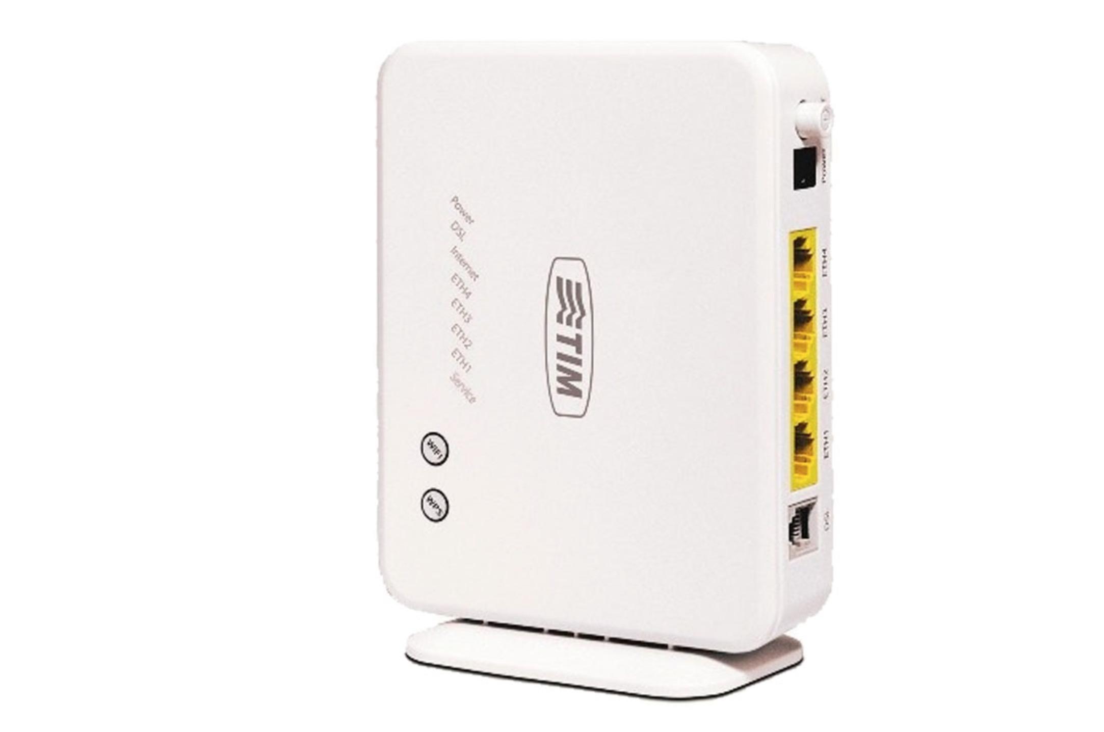 Configurare modem router TIM
