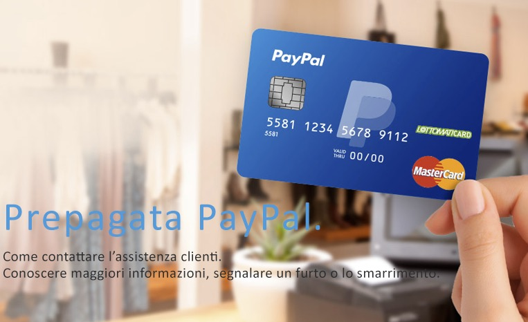 Conto PayPal tabaccaio