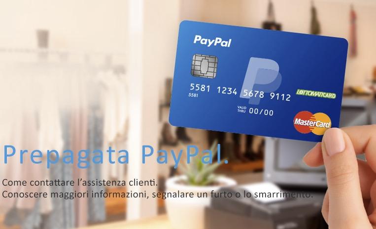 Conto PayPal tabaccaio