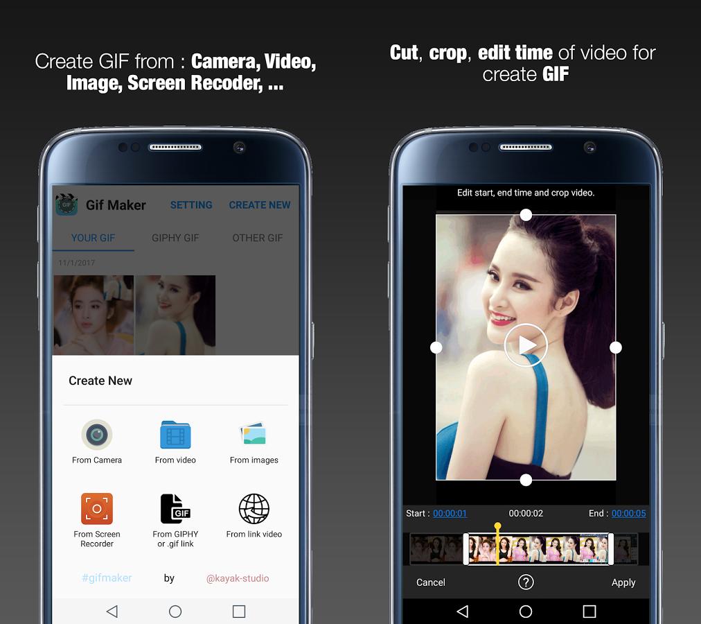 Creare GIF Android