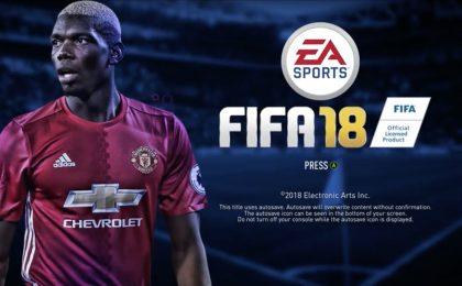FIFA 18: il primo video del menu principale