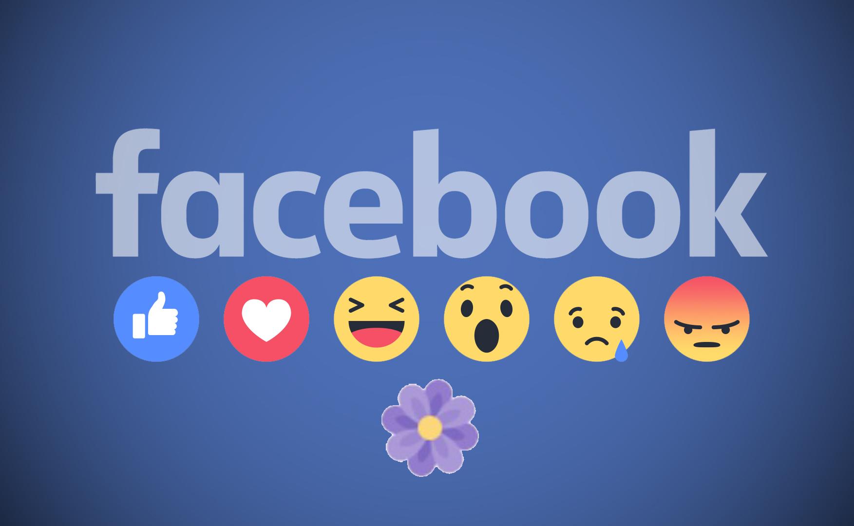 Festa della Mamma 2017: Facebook aggiunge un fiore alle reactions