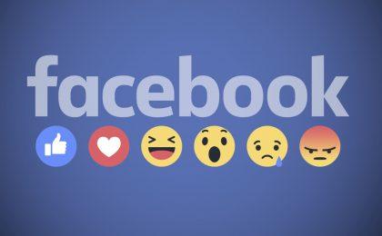 Faccine di Facebook: presenti anche nei commenti