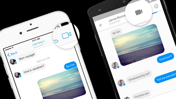 Facebook Messenger videochiamate e chiamate audio