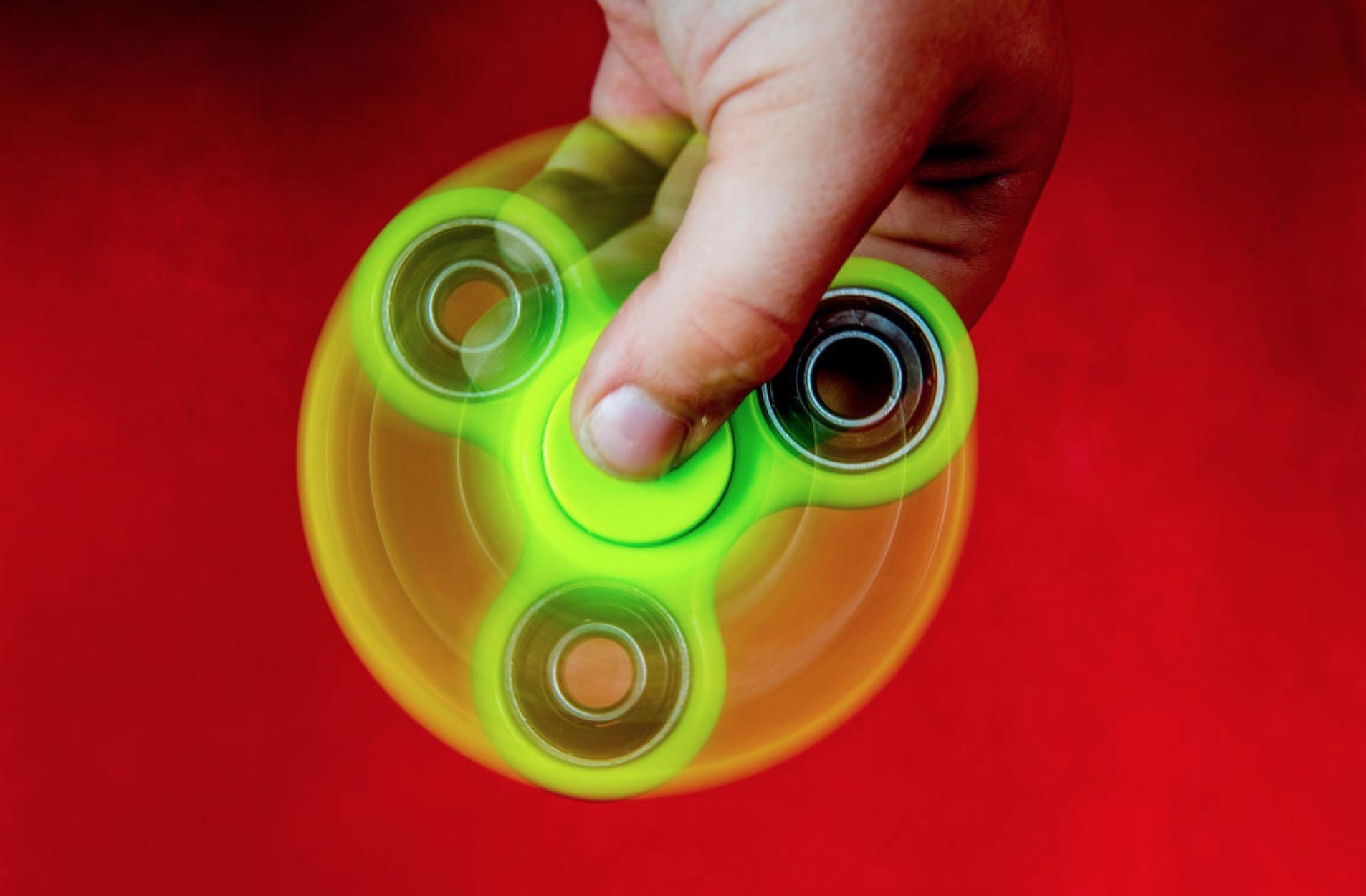 Fidget spinner edicola
