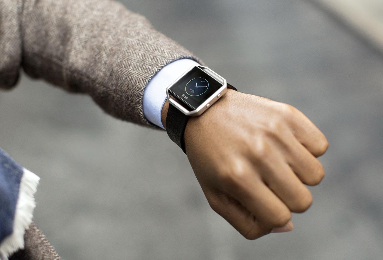 Fitbit Blaze smartband con display