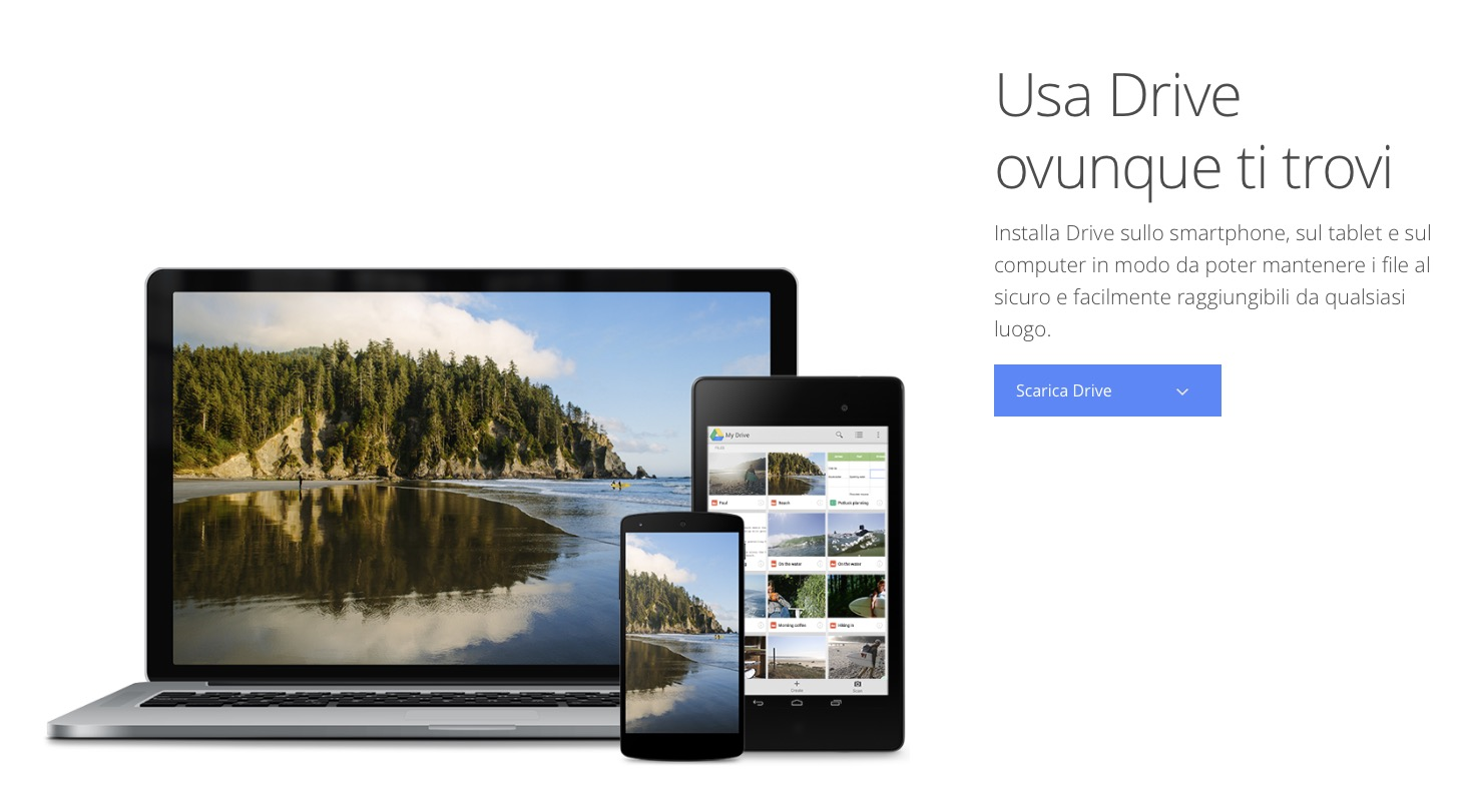 Google Drive su PC