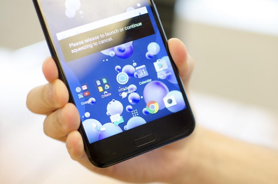 HTC U11 RAM e memoria interna