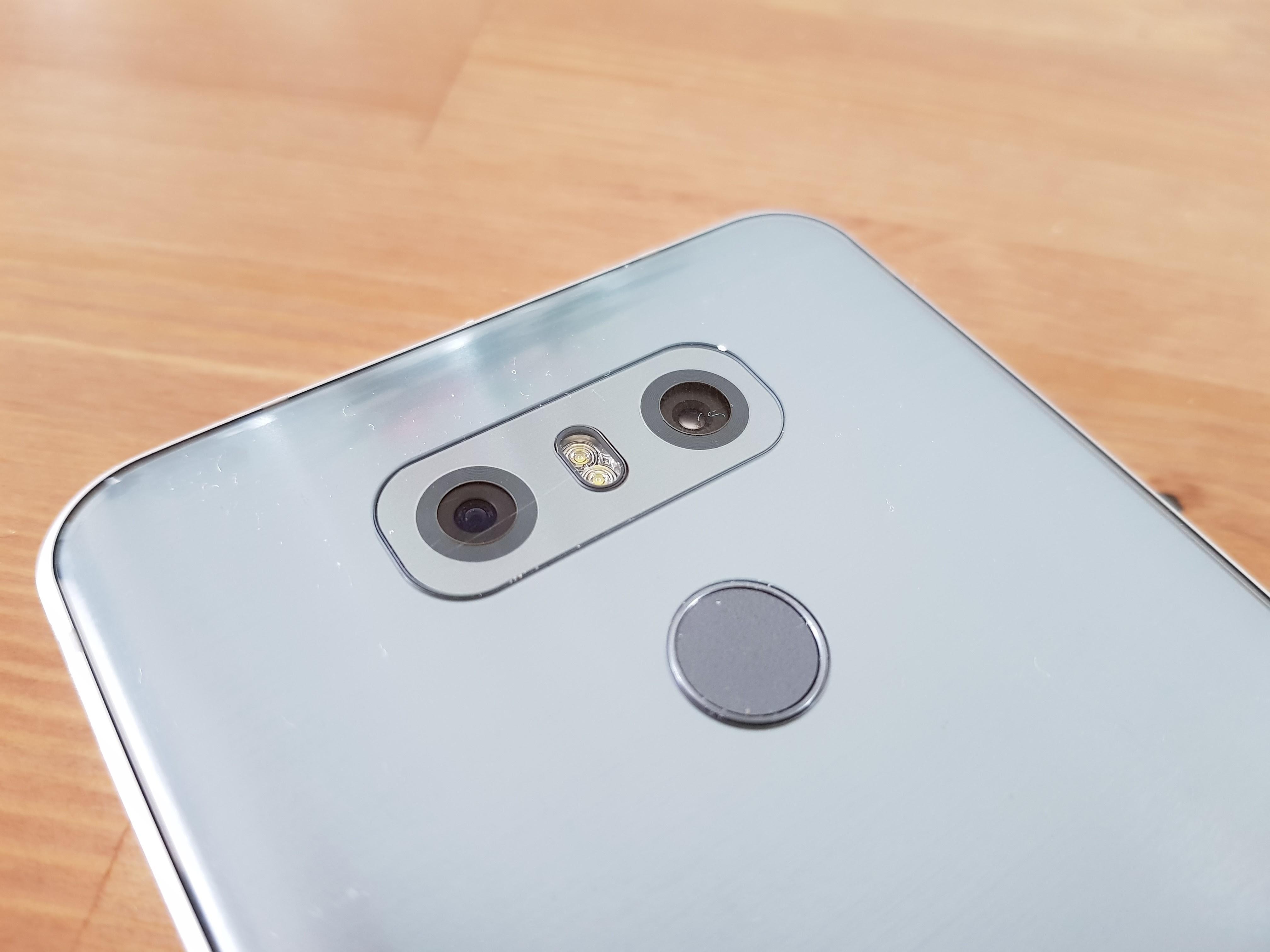 LG G6 fotocamere