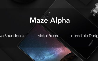 Maze Alpha, in arrivo lo smartphone senza cornici