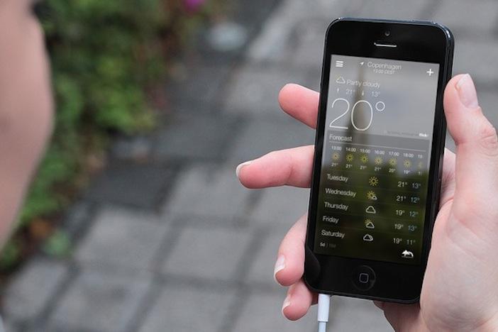 Migliori app meteo iPhone e Android