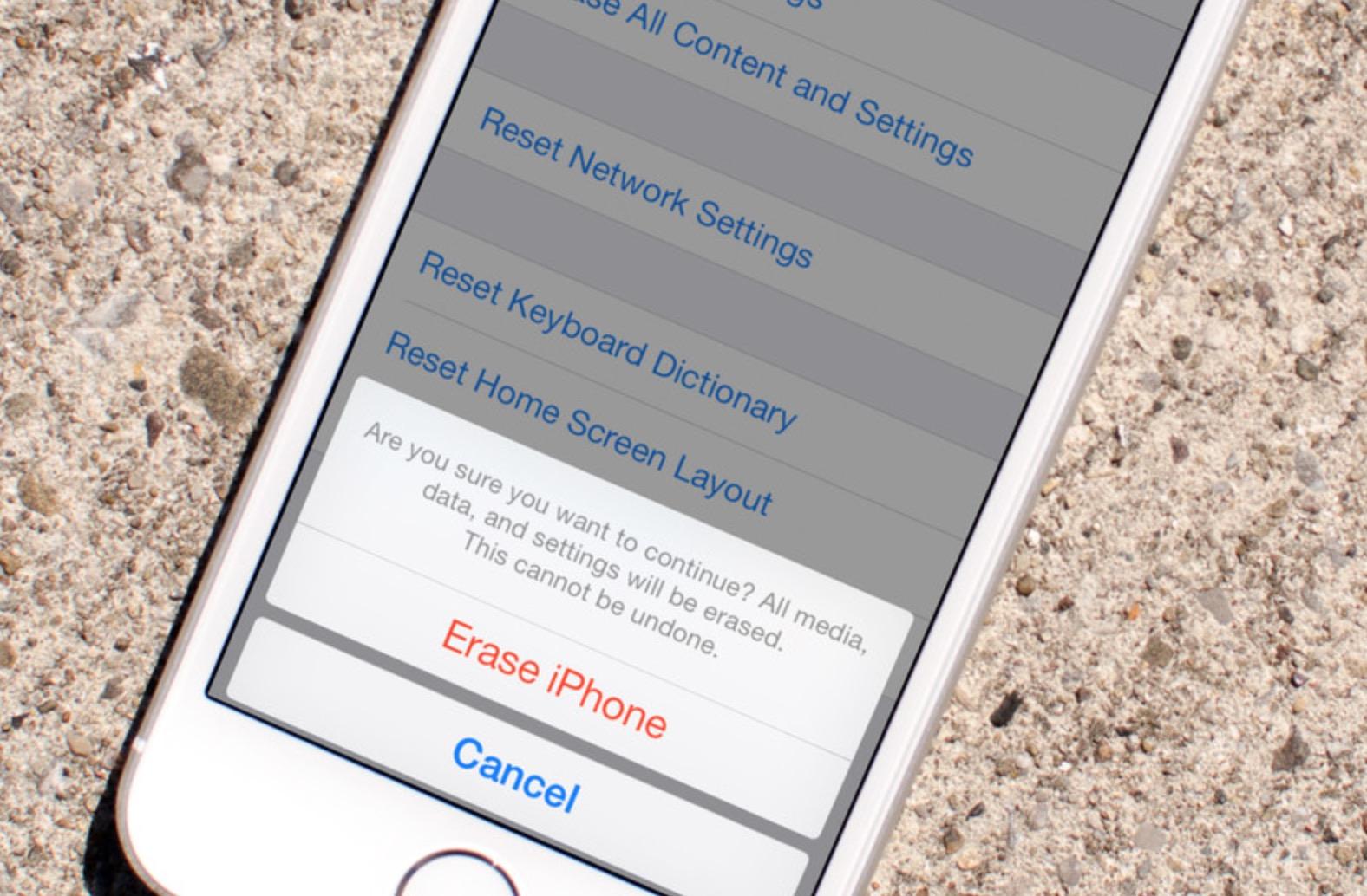 Resettare iPhone senza iTunes