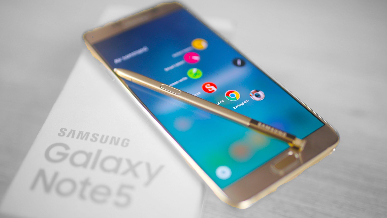 Samsung Galaxy Note 5 pennino