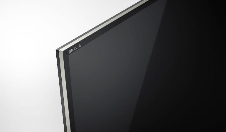 Sony KD 55XE9005 spigolo