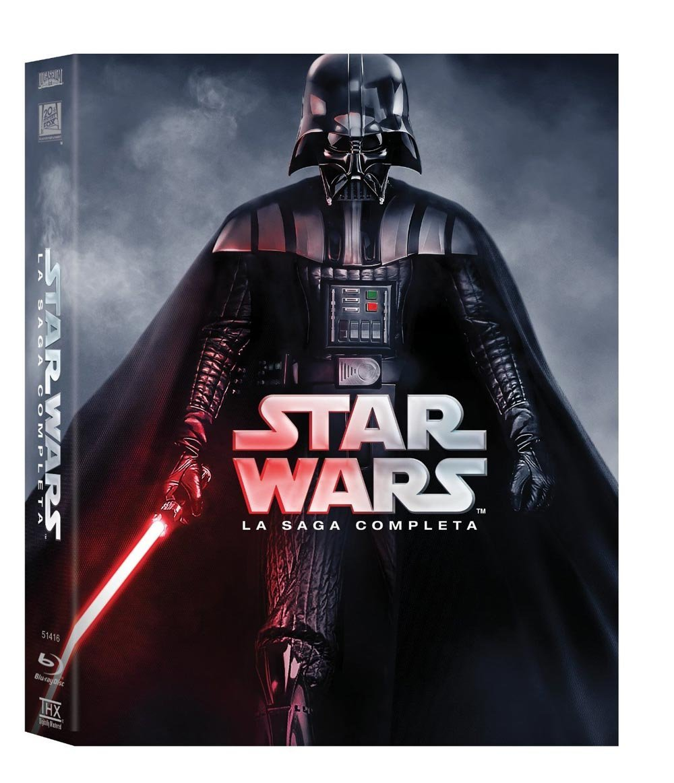 Star Wars La Saga Completa (9 Blu Ray)