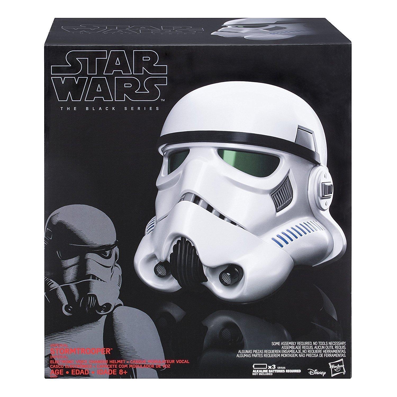 Star Wars S1 Bl Black Series Helmet Unisex