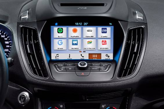 Ford Kuga sempre connessa grazie al SYNC 3