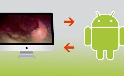 Come trasferire file da Android a Mac