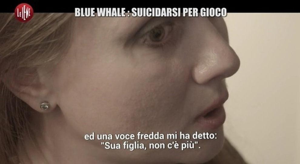 blue whale iene