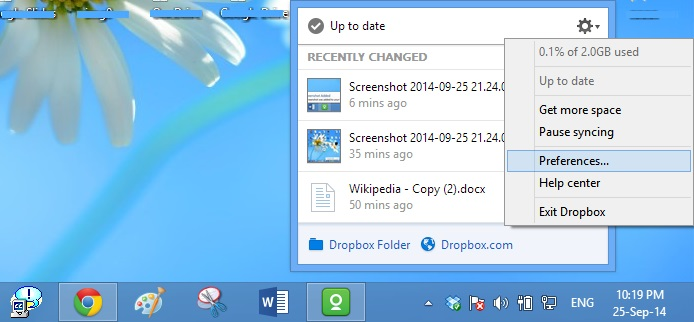 download file dropbox pc