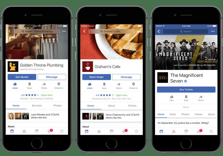 facebook ordinare cibo