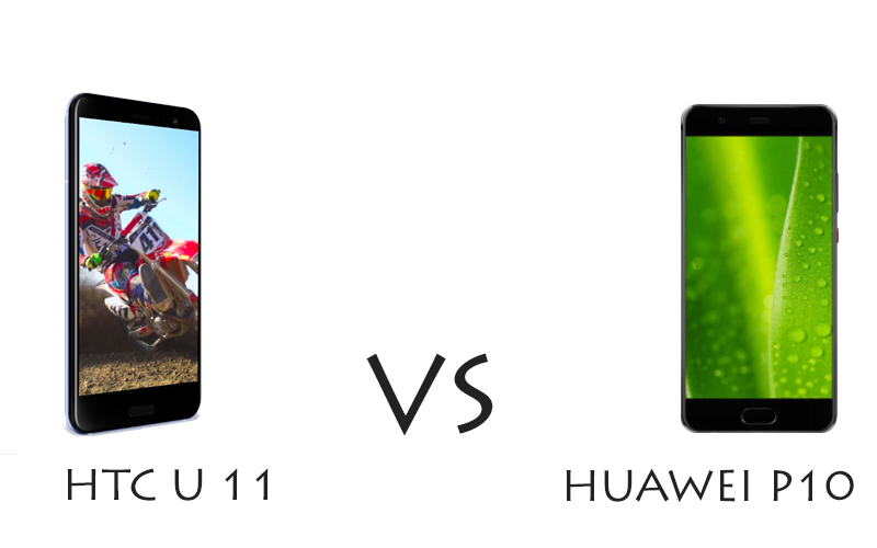 HTC U11 vs Huawei P10: il confronto