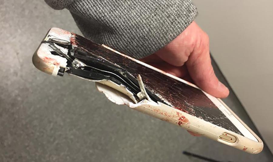 iPhone salva una donna nell'attentato di Manchester