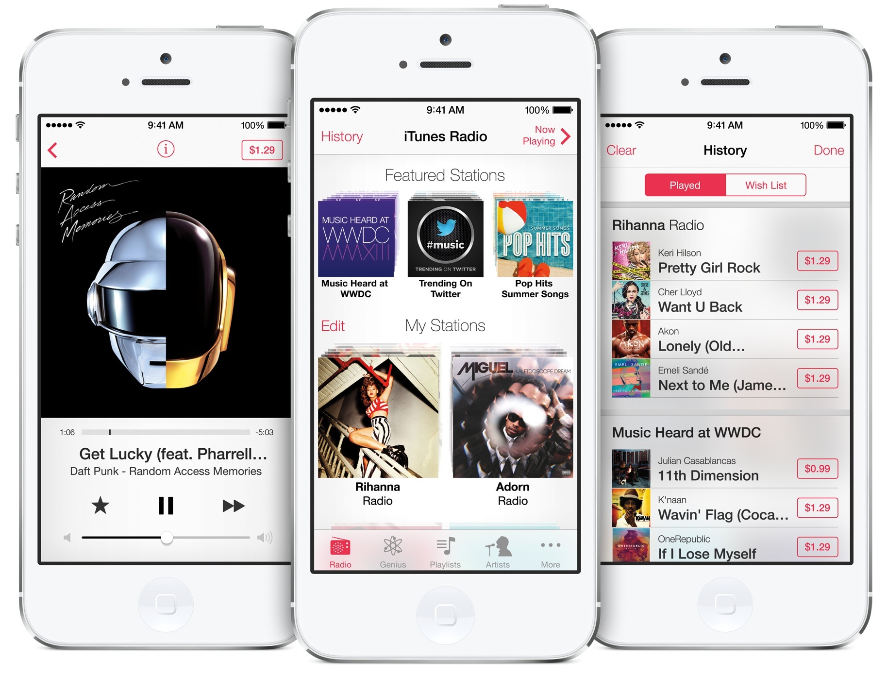 iTunes Radio iPhone