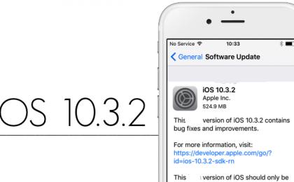 iOS 10.3.2: le novità dell'aggiornamento