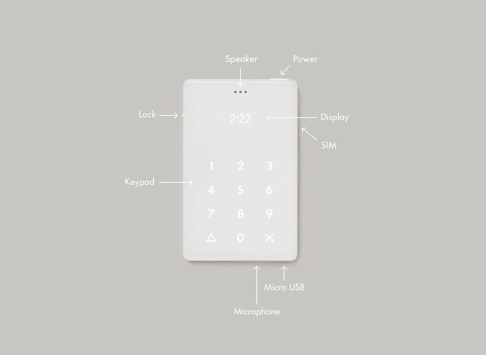 Light Phone: il telefono grande come una carta di credito