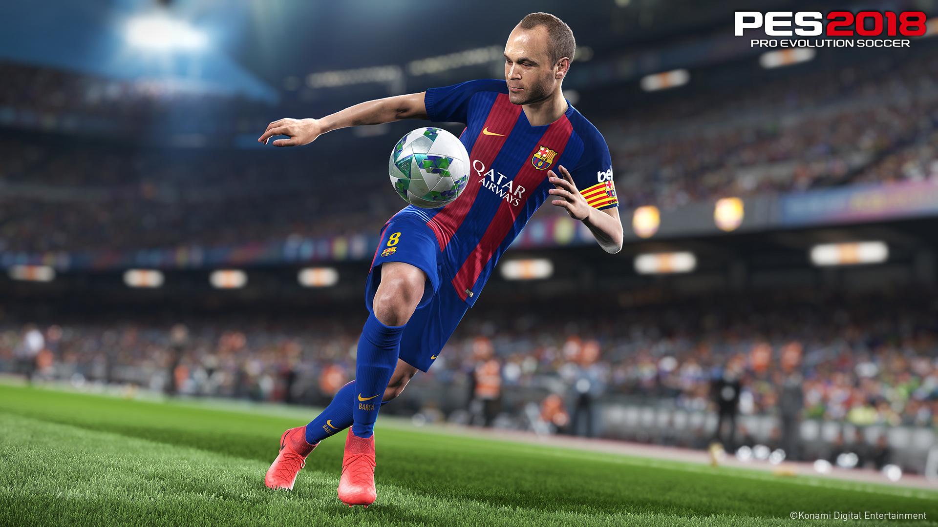 PES 2018: data d'uscita, gameplay e trailer