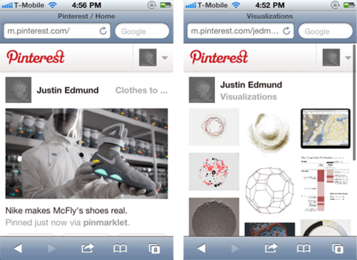 pinterest iphone ipad
