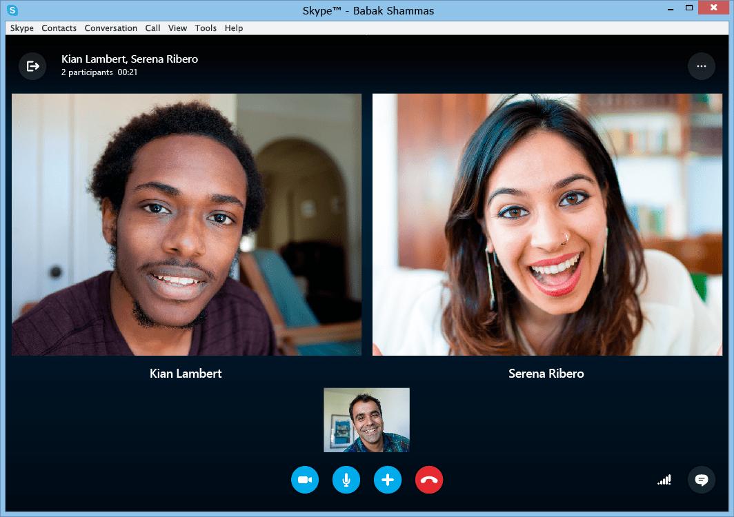 Come videochiamare con Skype