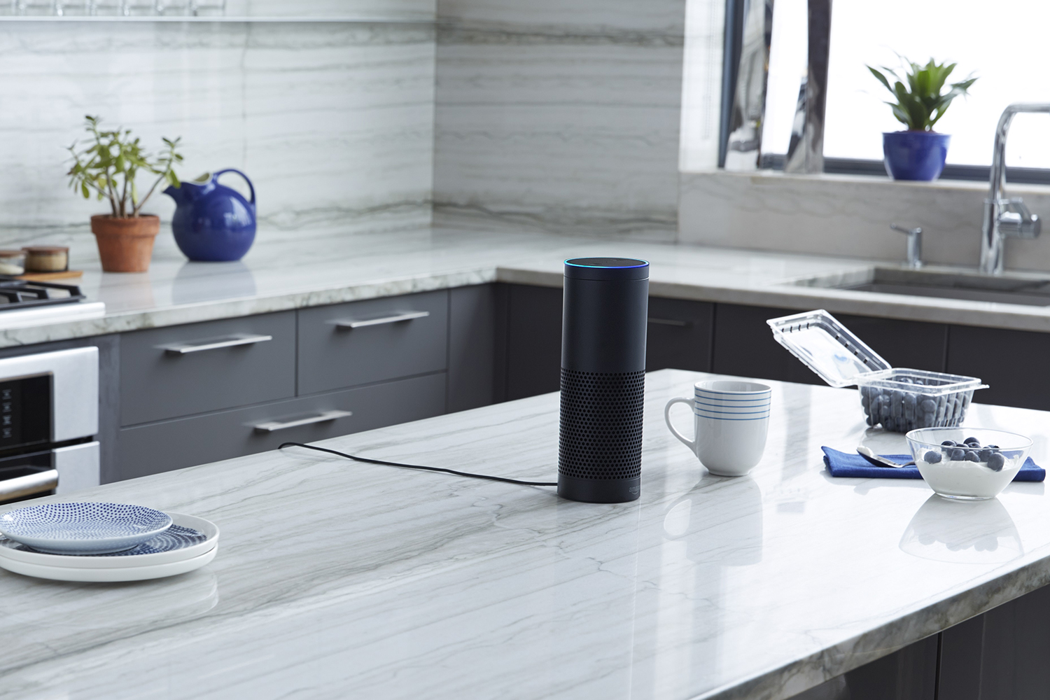 Amazon Echo assistente vocale