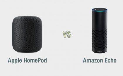 Apple HomePod vs Amazon Echo: il confronto