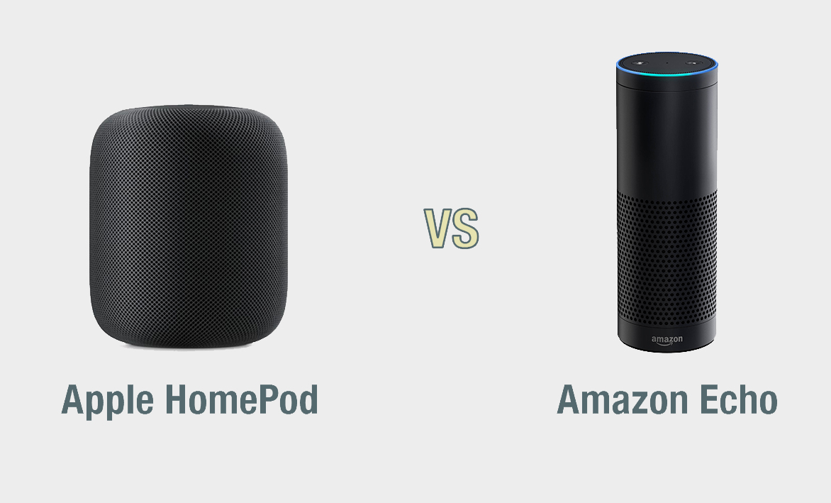 Apple HomePod vs Amazon Echo: il confronto