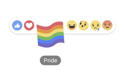 Come ottenere la Reaction bandiera arcobaleno su Facebook