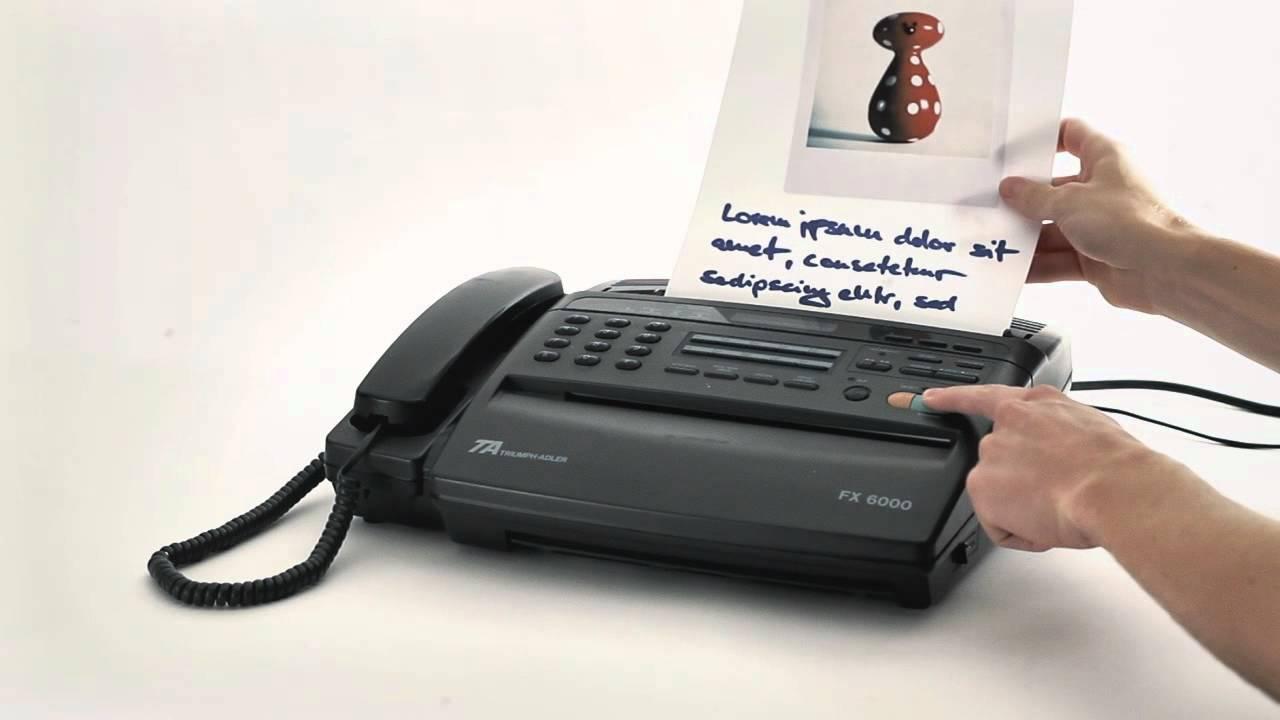 Fax via Internet