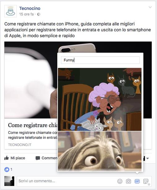 GIF Facebook 30 anni commenti
