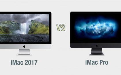 iMac vs iMac Pro: il confronto